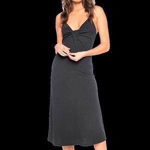 Bardot Serena Twist Front Midi Dress NWT